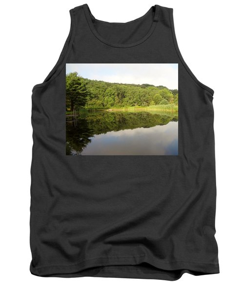 Tank Top featuring the photograph Relaxation by Michael Porchik