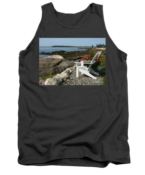 Tank Top featuring the photograph Relaxing Afternoon by Mariarosa Rockefeller