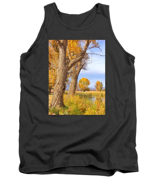 Tank Top featuring the photograph Remembering Autumn by Marilyn Diaz