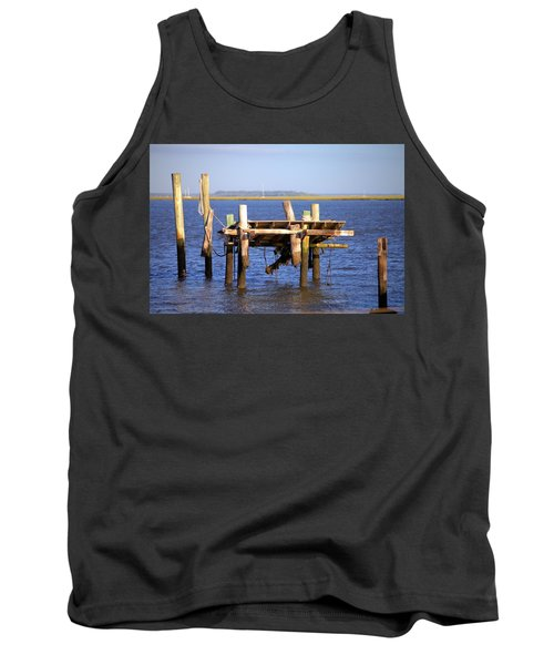 Tank Top featuring the photograph Remnants by Gordon Elwell