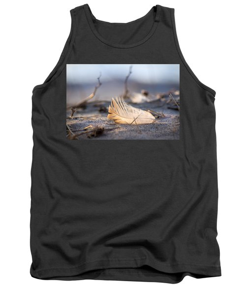 Remnants Of Icarus Tank Top by Bill Pevlor