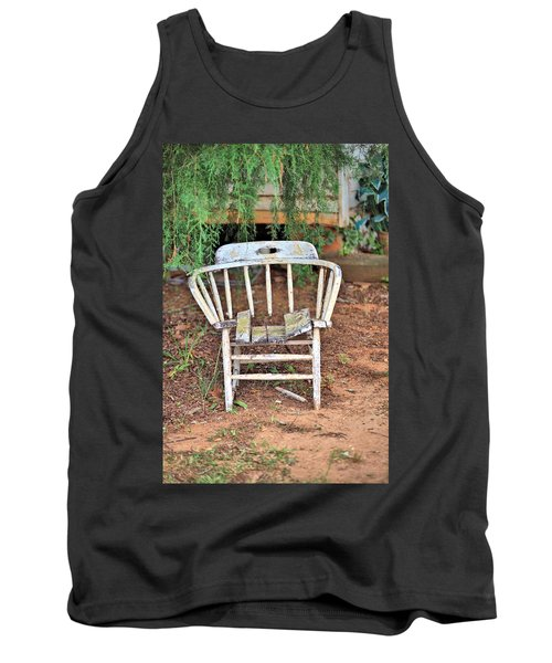 Tank Top featuring the photograph Retired by Gordon Elwell