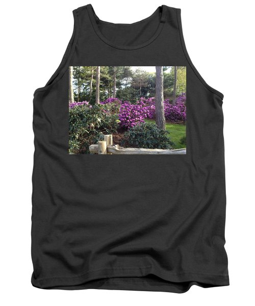 Rhododendron Garden Tank Top by Pema Hou