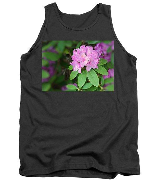 Rhododendron Tank Top by Kristin Elmquist