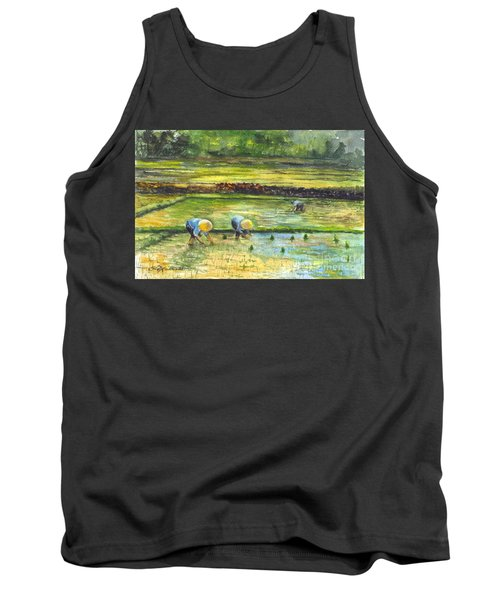 The Rice Paddy Field Tank Top