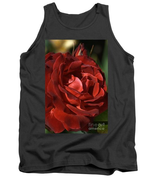 Tank Top featuring the photograph Rich Is Rose by Joy Watson