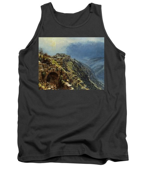 Rider On A White Horse Tank Top