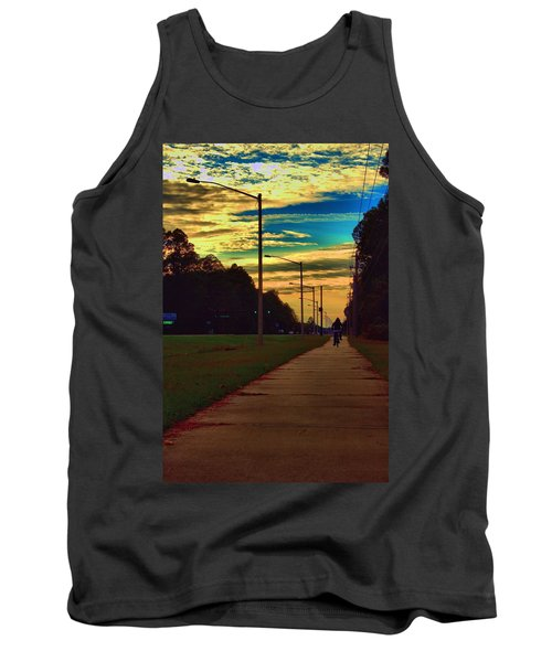 Riding Into The Sunset Tank Top