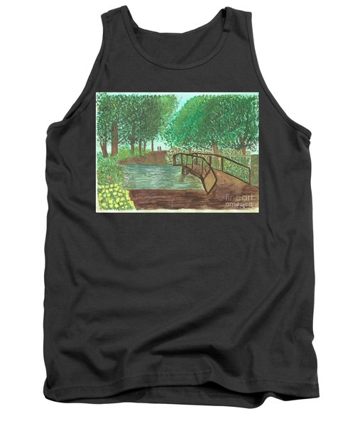 Riding Through The Woods Tank Top