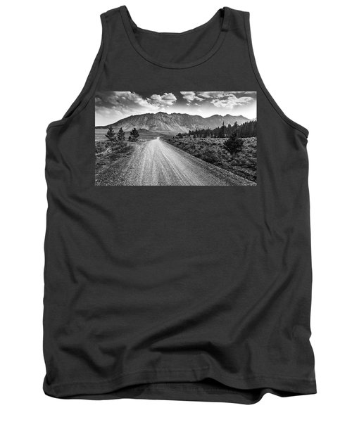 Riding To The Mountains Tank Top