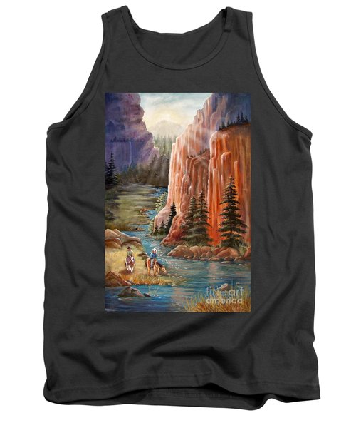 Rim Canyon Ride Tank Top by Marilyn Smith