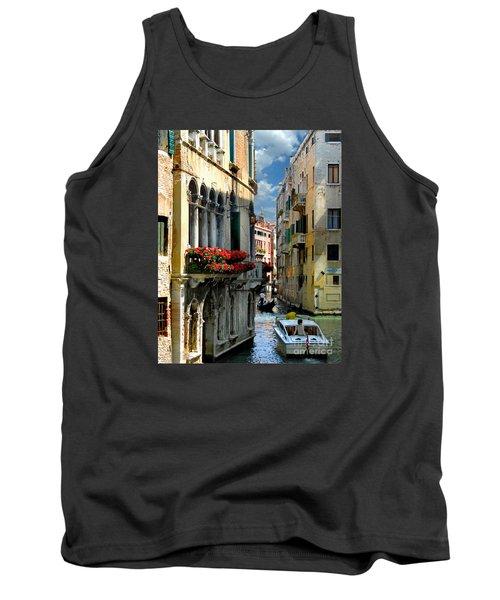 Tank Top featuring the photograph Rio Menuo O De La Verona. Venice by Jennie Breeze