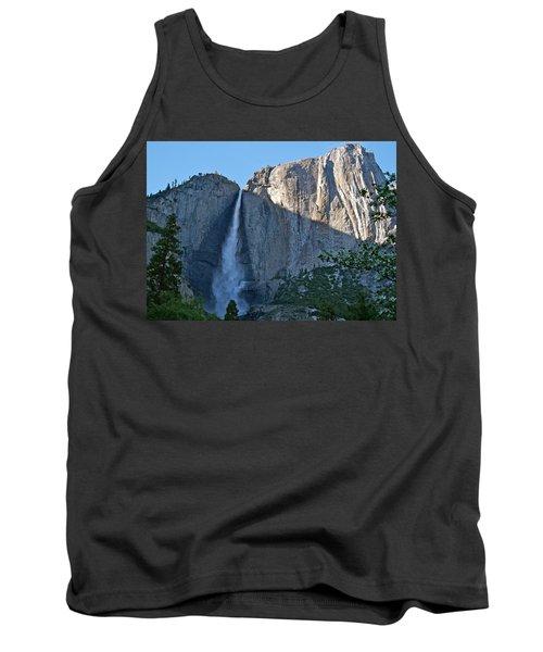 Rising Sun At Upper Yosemite Falls Tank Top by Michele Myers