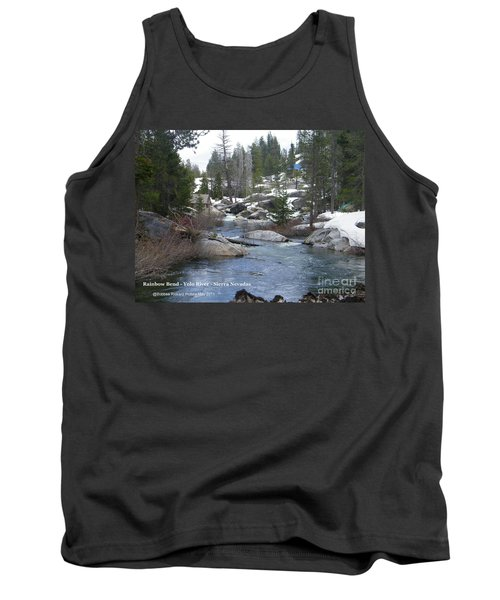 Tank Top featuring the photograph River Bend  by Bobbee Rickard