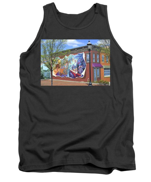 Riverside Gardens Park In Red Bank Nj Tank Top