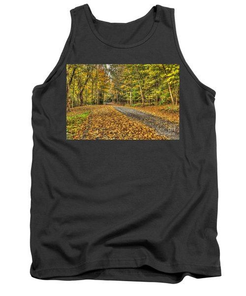 Road Into Woods Tank Top