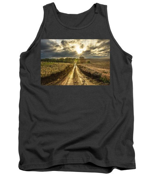Road To Nowhere Tank Top by Aaron J Groen