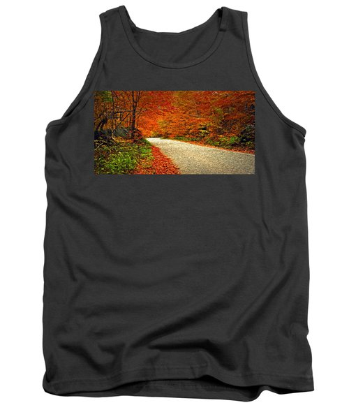 Road To Nowhere Tank Top by Bill Howard