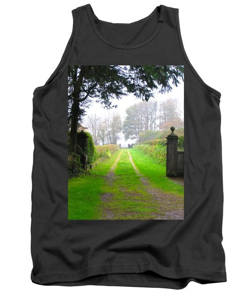 Tank Top featuring the photograph Road To Nowhere by Suzanne Oesterling