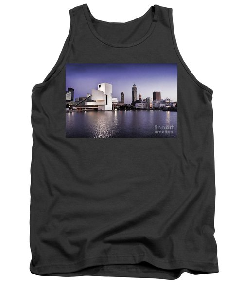 Tank Top featuring the photograph Rock And Roll Hall Of Fame - Cleveland Ohio - 2 by Mark Madere
