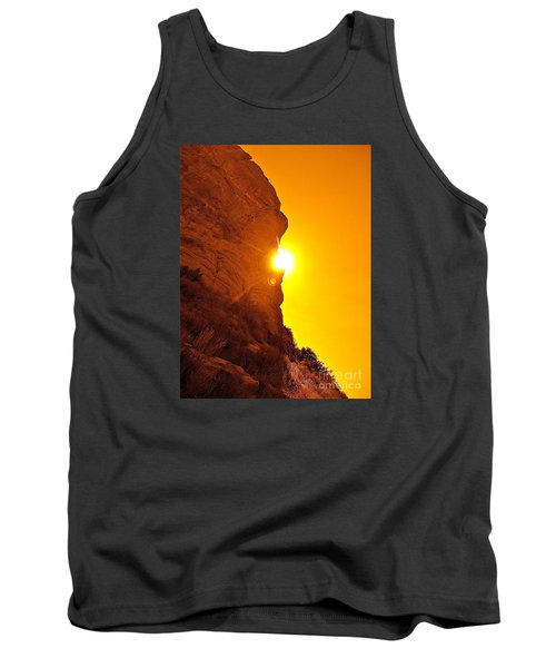 Rock Eclipse  Tank Top