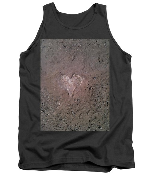 Rock Heart Tank Top by Claudia Goodell