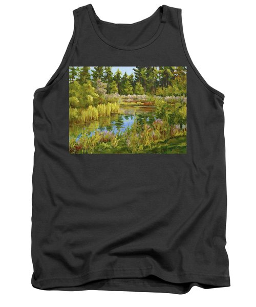 Rock Valley Pond Rockford Il Tank Top