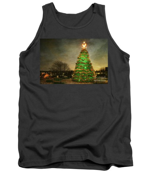 Rockland Lobster Trap Christmas Tree Tank Top