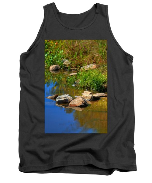 Tank Top featuring the photograph A Clear Reflection by Ester  Rogers