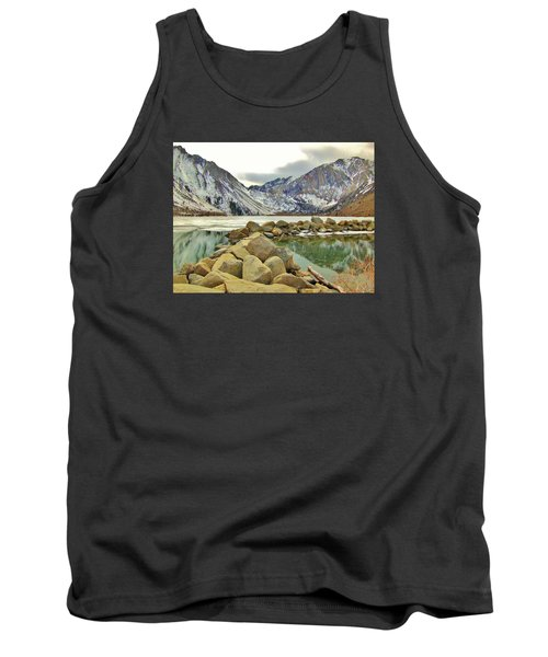Tank Top featuring the photograph Rocks by Marilyn Diaz