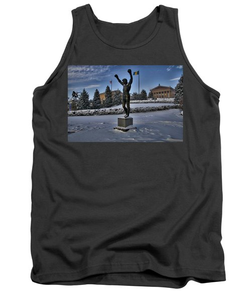 Rocky In The Snow Tank Top