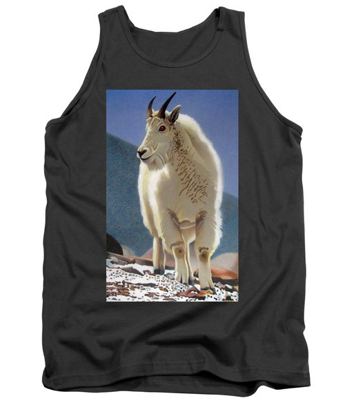 Rocky Mountain Goat Tank Top