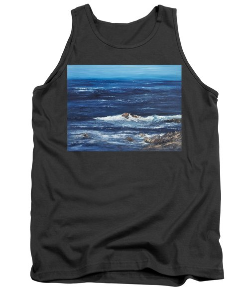 Rocky Shore Tank Top by Valerie Travers