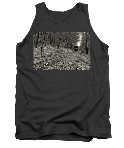 Rolling Down The Tracks Tank Top