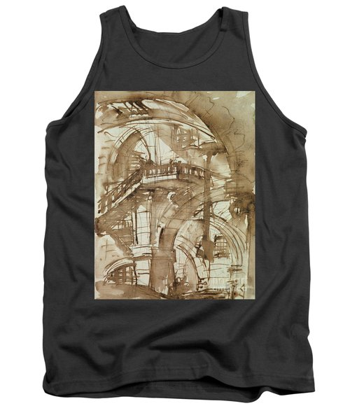 Roman Prison Tank Top by Giovanni Battista Piranesi