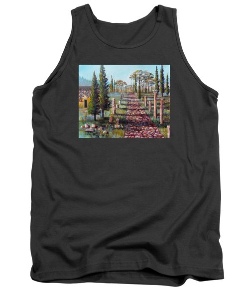 Roman Road Tank Top by Lou Ann Bagnall