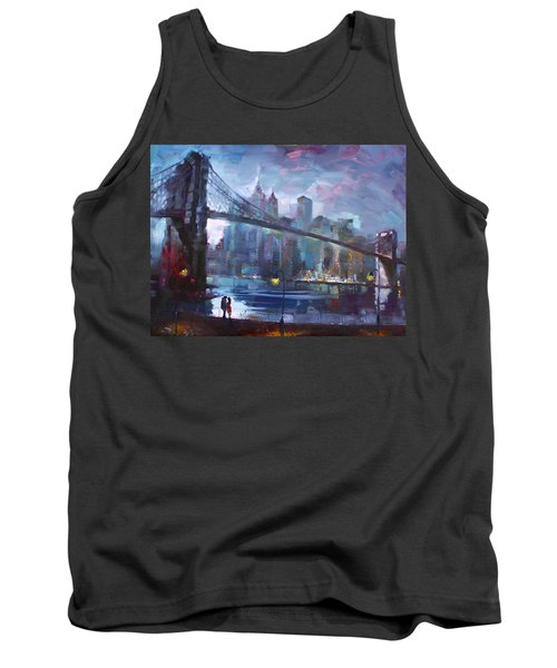 Romance By East River II Tank Top by Ylli Haruni