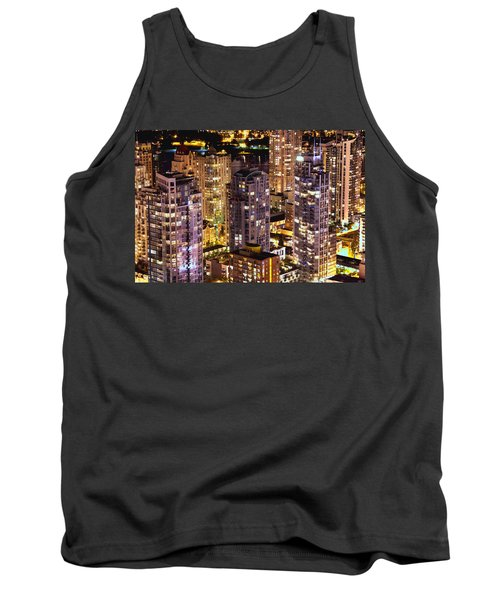 Tank Top featuring the photograph Romance In Yaletown Mcdxxxi by Amyn Nasser