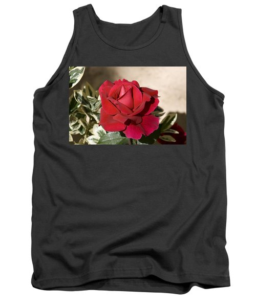 Rose 5 Tank Top by Andy Shomock