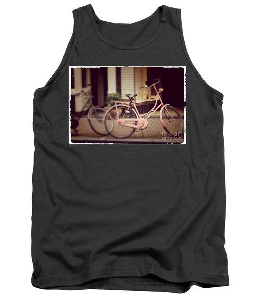 Rose Bike Tank Top by Mary-Lee Sanders