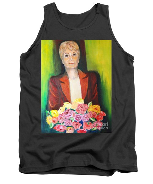 Roses For The Lady Tank Top