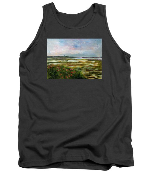 Roses Over The Marsh Tank Top