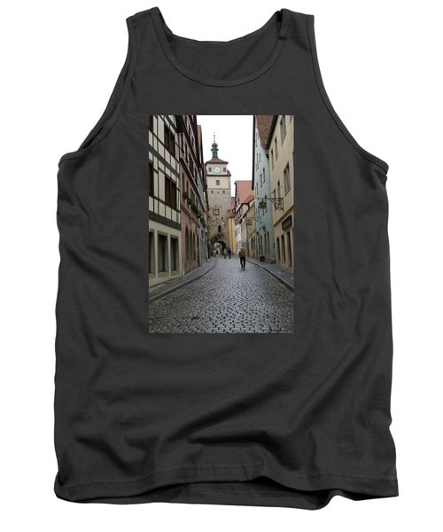 Tank Top featuring the photograph Rothenburg Ob Der Tauber by Heidi Poulin