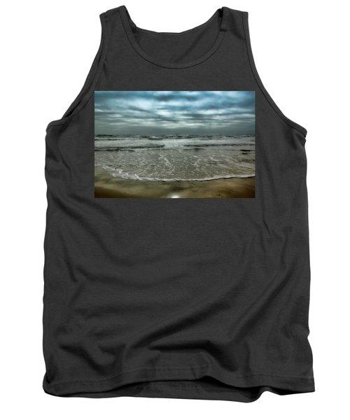 Tank Top featuring the photograph Rough Surf by Ellen Heaverlo