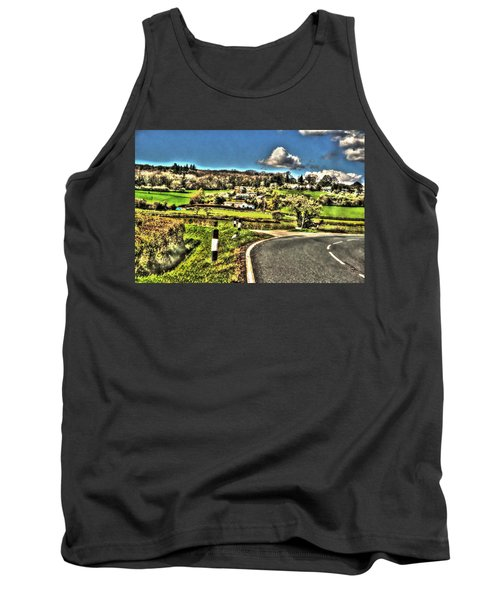 Tank Top featuring the photograph Round The Bend by Doc Braham