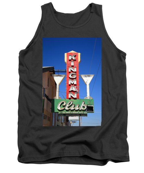 Route 66 - Kingman Club Tank Top
