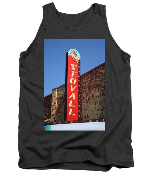 Route 66 - Stovall Theater Tank Top by Frank Romeo