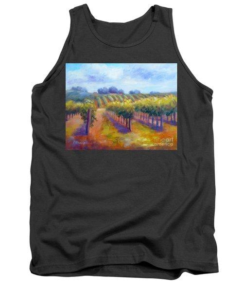 Rows Of Vines Tank Top