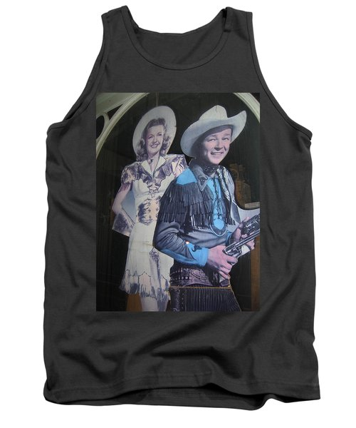 Roy Rogers And Dale Evans #2 Cut-outs Tombstone Arizona 2004 Tank Top