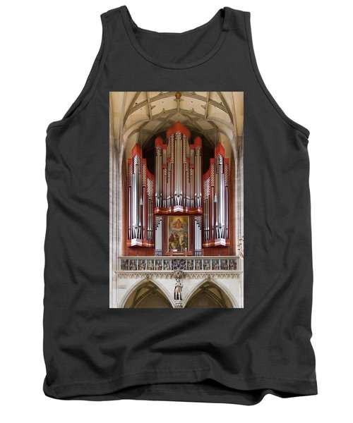 Royal Red King Of Instruments Tank Top